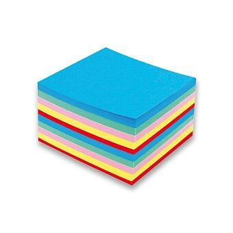 Obrázek produktu Poznámkový bloček barevný - nelepený - 90 × 90 × 50 mm, 500 listů