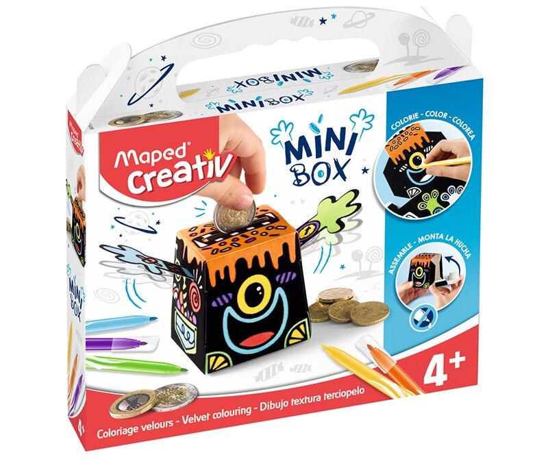 Kreativní sada Mini Box s pokladničkou zabaví děti