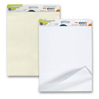 Obrázek produktu Samolepící mobilní flipchart Hopax Stick´n - 762 x 635 mm, výběr odstínů papíru