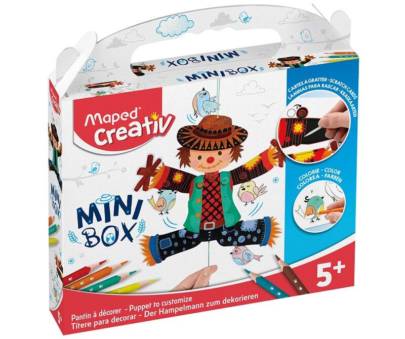 Kreativní sada Mini Box se strašákem zabaví děti