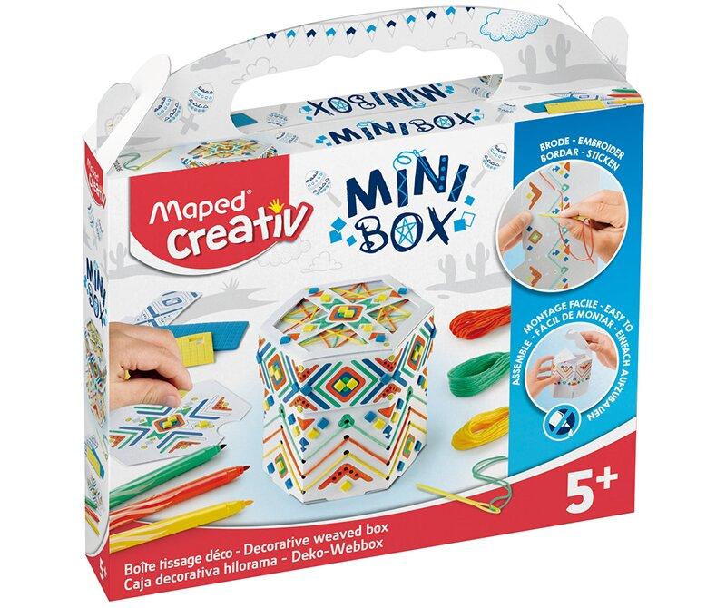 Kreativní sada Mini Box se šperkovnicí zabaví děti