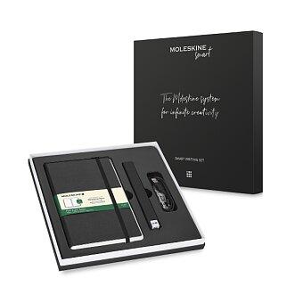 Obrázek produktu Moleskine Smart Writing Set - Pen+ Ellipse - černý, čistý