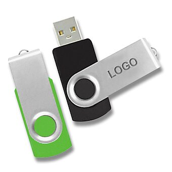 Obrázek produktu USB II. - USB otočný, velikost 8 GB, výběr barev