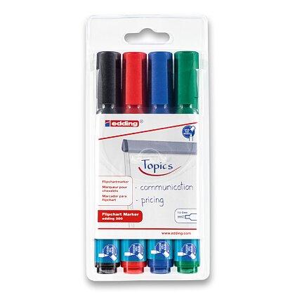 Obrázek produktu Edding Marker 380 - popisovač na flipchart - 4 barvy