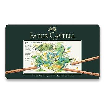 Obrázek produktu Umělecké pastely Faber-Castell Pitt Pastel 112160 - plechová krabička, 60 ks