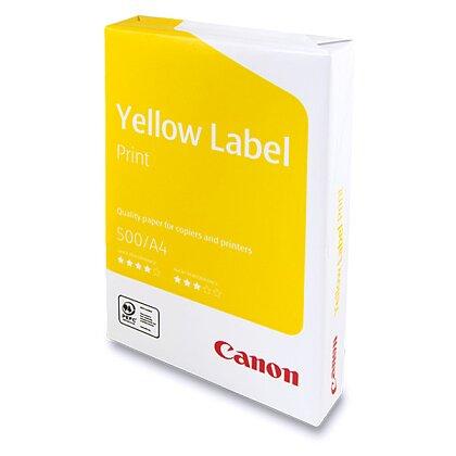 Obrázek produktu Canon Yellow Label Print - xerografický papír - A4, 80 g, 5×500 listů