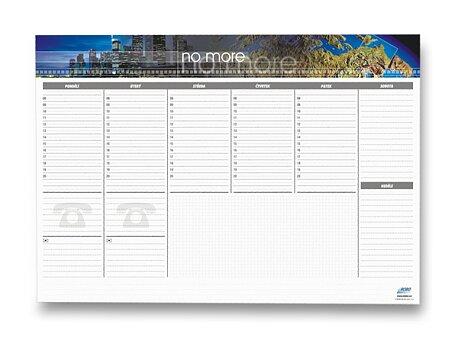 Obrázek produktu Papírová stolní psací podložka týdenní - 594 x 420 mm, 30 listů