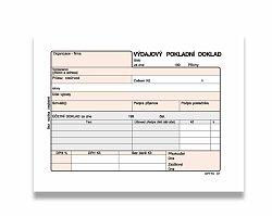 Výdajový pokladní doklad Optys OPT1037