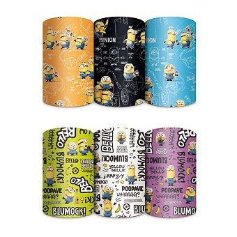 Obrázek produktu Dárkový balicí papír Mimoni - 2 x 0,7 m, mix motivů