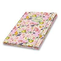 3chlopňové kartonové desky Pigna Nature Flowers