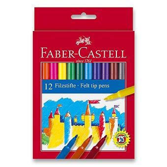 Obrázek produktu Dětské fixy Faber-Castell - 12 barev