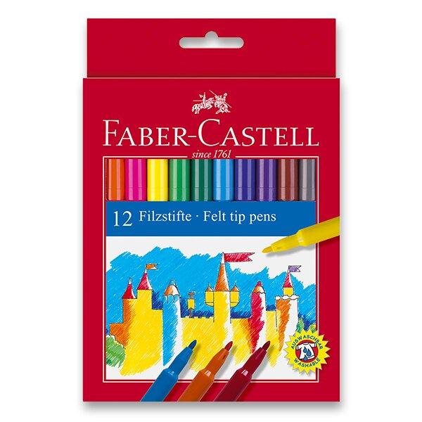 Dětské fixy Faber-Castell 12 barev