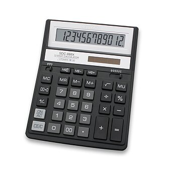 Obrázek produktu Kancelářský kalkulátor Citizen SCD-888X