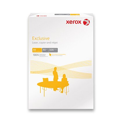 Product image Xerox Exclusive - xerographic paper - A4, 5 × 500 sheets, 80 g