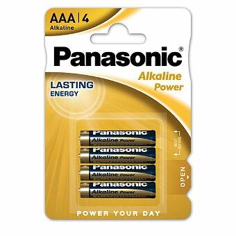Obrázek produktu Baterie Panasonic Alkaline Power - AAA, 4 ks