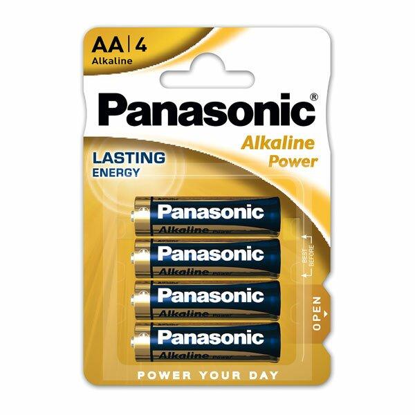 Baterie Panasonic Alkaline Power AA, 4 ks