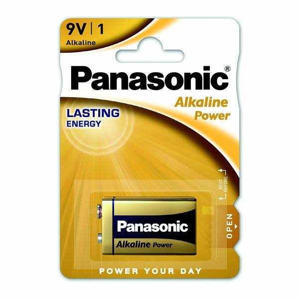 Baterie Panasonic Alkaline Power 9V, blistr