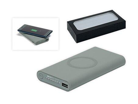 Obrázek produktu Přenosná pogumovaná indukční bezdrátová nabíječka