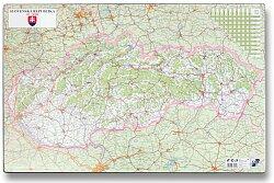 Podložka na stůl - Mapa Slovenské republiky