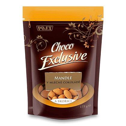 Obrázek produktu Mandle v mléčné čokoládě se skořicí - 175 g