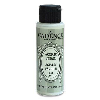 Obrázek produktu Dokončovací lak Cadence - 120 ml, matný