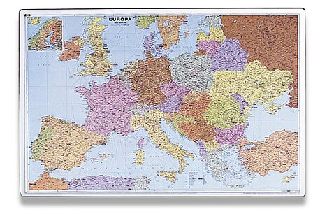 Obrázek produktu Podložka na stůl - mapa Evropy - 60 x 40 cm
