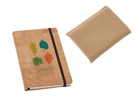 Obrázek produktu Poznámkový zápisník s korkovou vazbou, A6