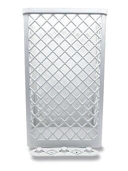 Obrázek produktu Plastový odpadkový koš vhodný na papírové ručníky - objem 35 l, bílý