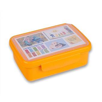 Obrázek produktu Svačinový box Zdravá sváča - oranžový