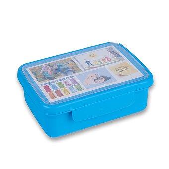 Obrázek produktu Svačinový box Zdravá sváča - modrý