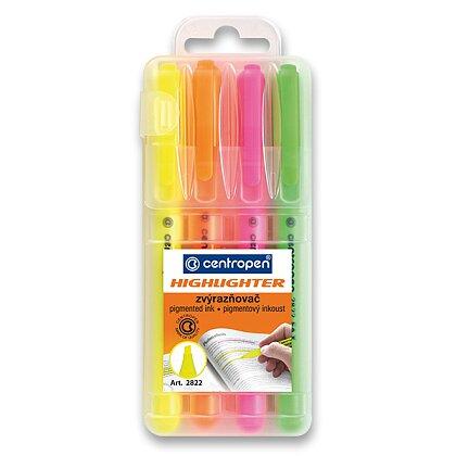 Obrázek produktu Centropen Highligter 2822 - zvýrazňovač - 4 barvy