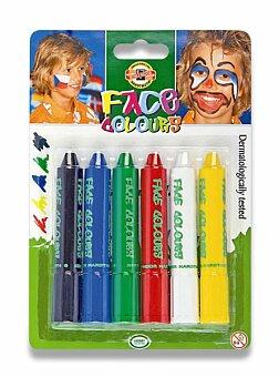 Obrázek produktu Barvy na obličej Koh-i-noor 4610 - 6 základních barev
