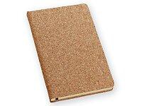 Poznámkový zápisník s korkem 90 × 142 mm