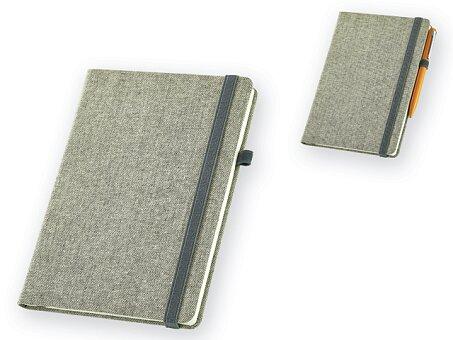 Obrázek produktu Poznámkový zápisník z polyesterového plátna