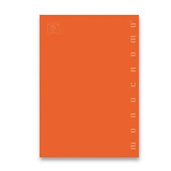 Obrázek produktu Školní sešit Pigna Monocromo - A4, čistý, 40 listů, mix barev