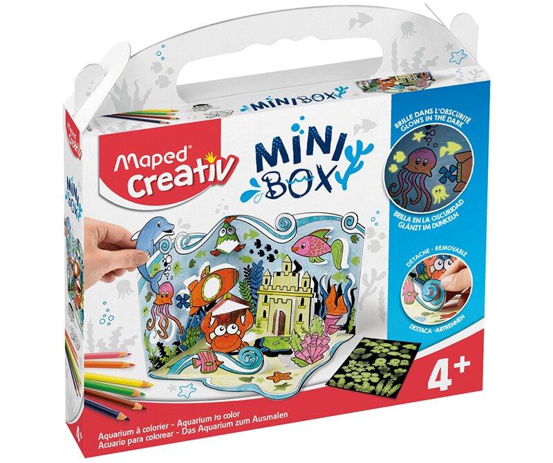 Kreativní sada Mini Box Akvárium zabaví děti