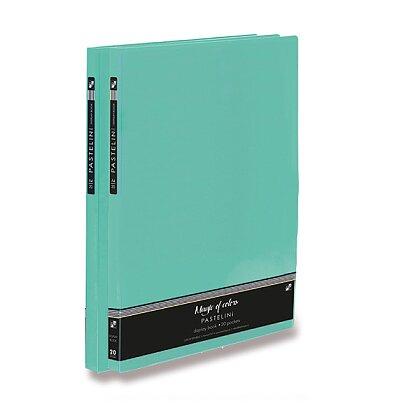 Obrázek produktu PP Pastelini - katalogová kniha - A4, 20 listů, zelená