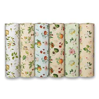Obrázek produktu Balicí papír Botanica - 2 x 0,7 m, mix motivů