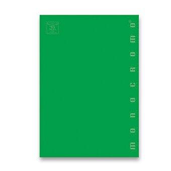 Obrázek produktu Školní sešit Pigna Monocromo - A5, čtverečkovaný, 40 listů, mix barev