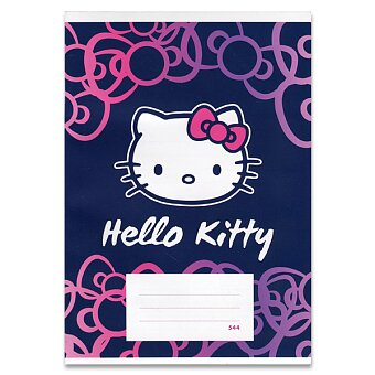 Obrázek produktu Školní sešit Hello Kitty - A5, linkovaný, 40 listů