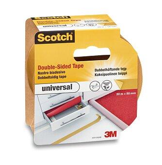 Obrázek produktu Samolepicí páska Scotch Carpet Tape - oboustranná, 50 mm x 20 m