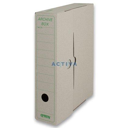 Obrázek produktu EMBA Archivační box - 330 x 260 x 75 mm