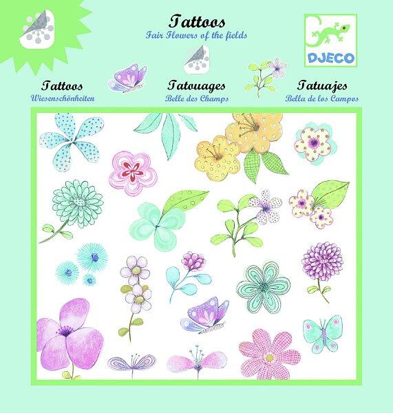 Tetování Djeco - Květiny a motýli 70a8d0c75b