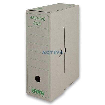 Obrázek produktu EMBA Archivační box - 330 x 260 x 110 mm