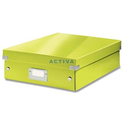 Obrázek produktu Leitz Click & Store - organizační krabice - 280 × 100 × 370 mm, zelený