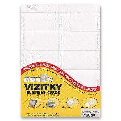 Obrázek produktu Trodat - vizitkový karton - bílý