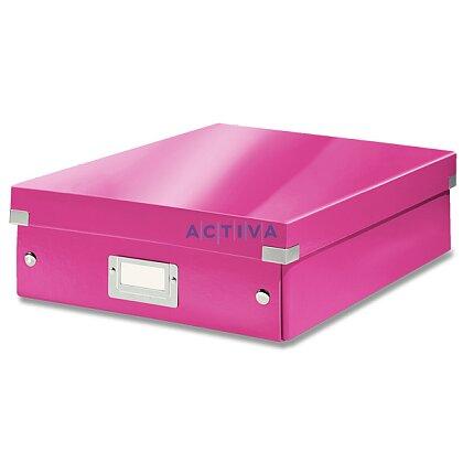 Obrázek produktu Leitz Click & Store - organizační krabice - 280 × 100 × 370 mm, růžová