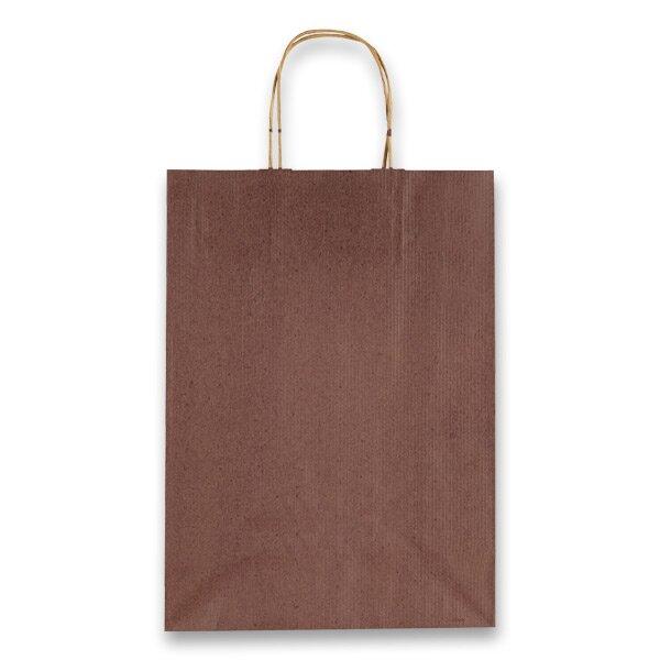 Dárková taška Allegra hnědá, M