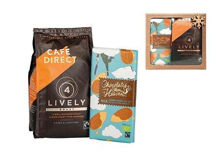 Obrázek produktu Dárková sada mleté kávy LIVELY