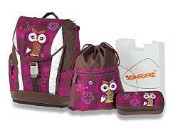 Aktovka Schneiders Soft The Owl Olivia s příslušenstvím